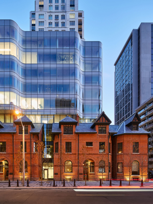 View looking south - 7 St. Thomas by Hariri Pontarini Architects