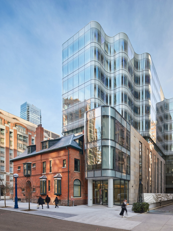 View looking north-east - 7 St. Thomas by Hariri Pontarini Architects