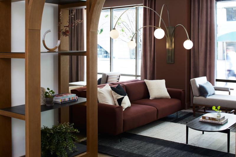 Hotel lobby living room