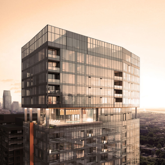 1111 Atwater penthouses in Montreal