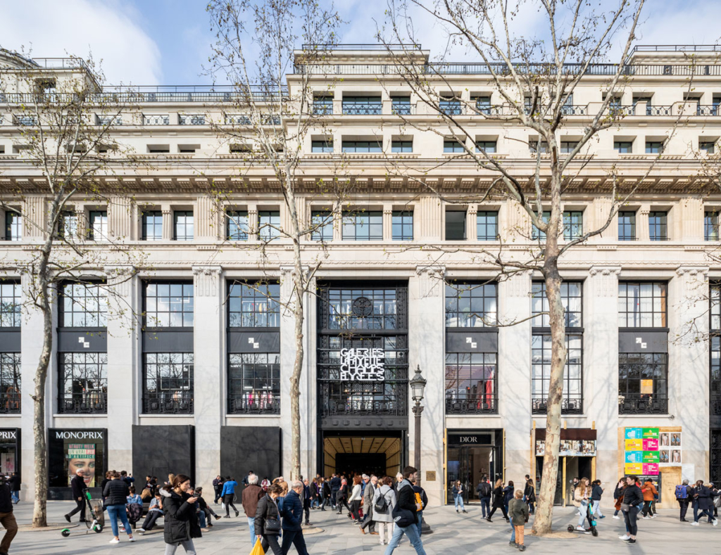 Galeries LaFayette Flagship on Champs-Elysees by BIG