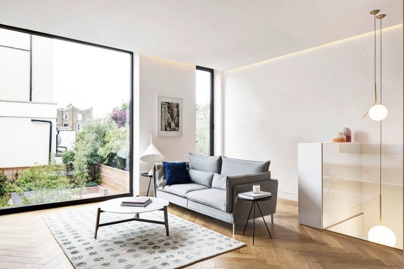 Living Room, Englefield House, London by DROO