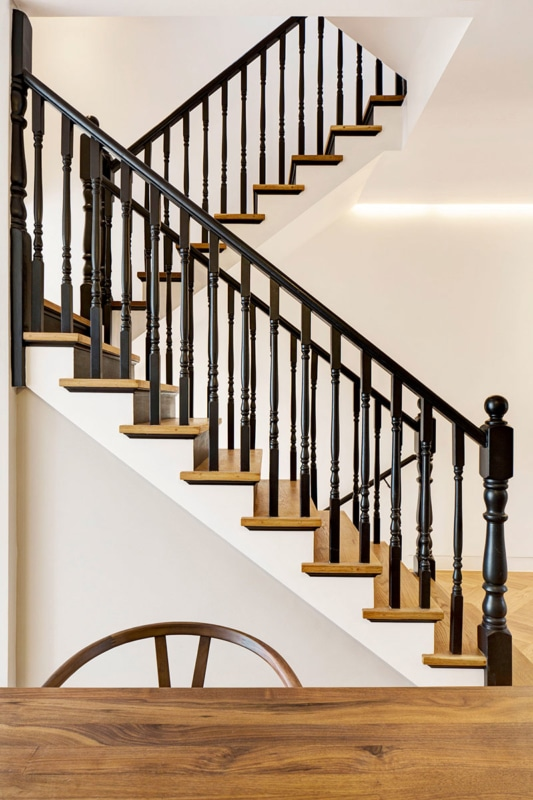 Stairs, Englefield House, London by DROO