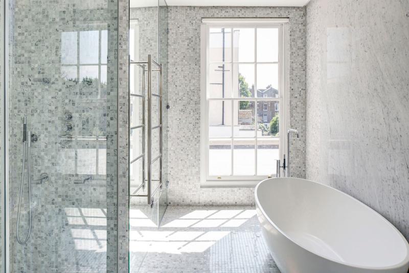 Bathroom - Englefield House, London by DROO