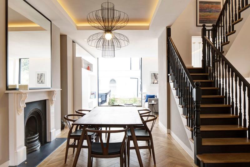 Living Room - Englefield House, London by DROO