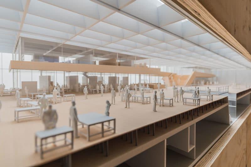 Snøhetta's First Exhibition in Munich, Germany Opens at the Architekturgalerie München