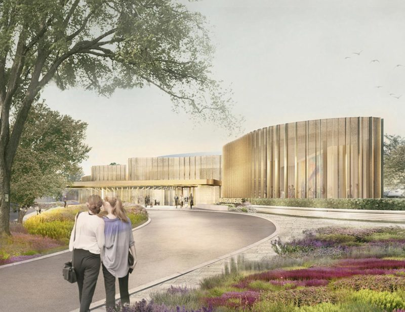 Theatre Entrance Rendering