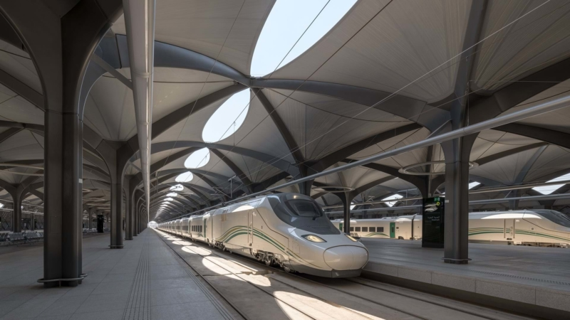 Haramain High-speed rail by Foster + Partners
