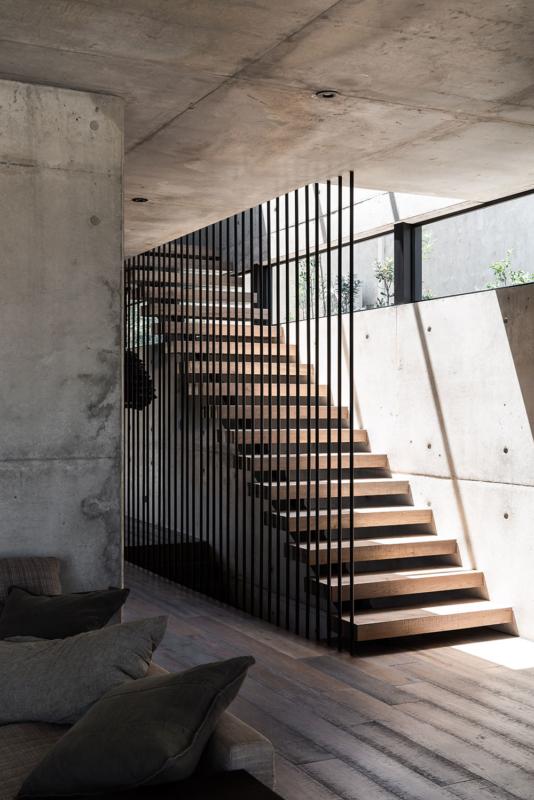 Vodka Palace, a luxurious concrete cave by MARCUS BROWNE architect