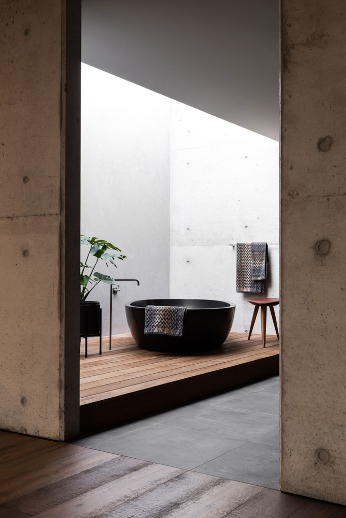 Vodka Palace, a luxurious concrete cave by MARCUS BROWNE architect