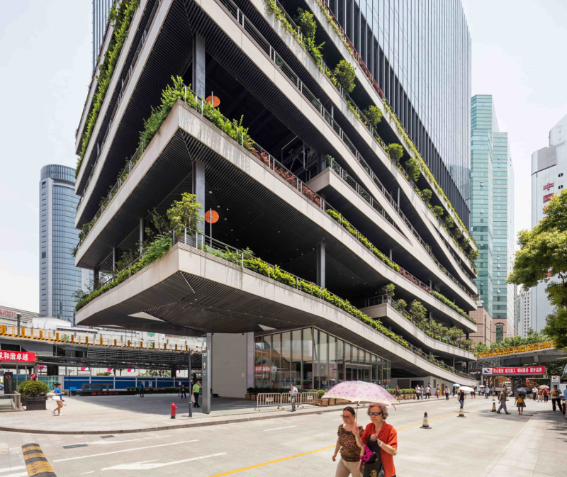 T20, Shanghai by Jacques Ferrier Architecture and Sensual City Studio