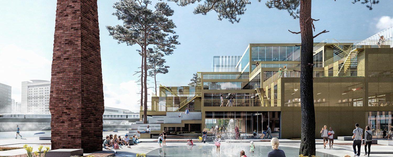Belfast Waterside Masterplan by Henning Larsen