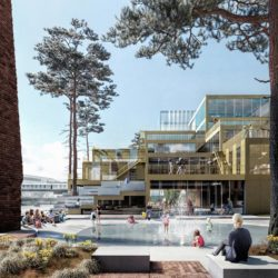 Belfast Waterside Masterplan by Henning Larsen