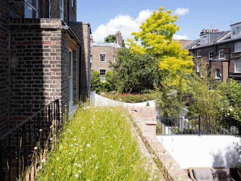 Gardnor Road Maisonette, London by Brosh Architects
