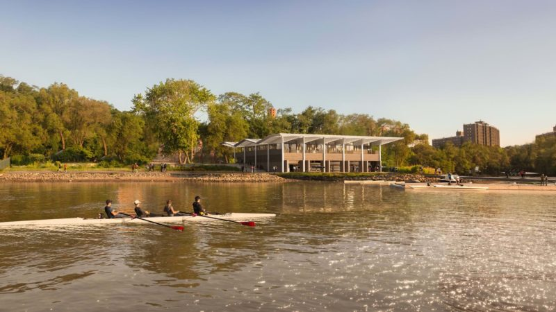 Row New York Boathouse by Foster + Partners