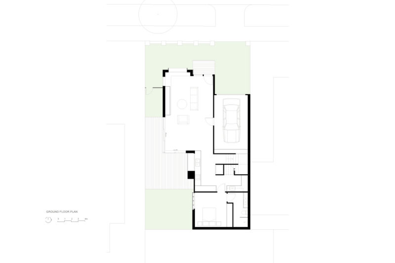 Ground Floor Plan, Brodecky House / Atlas Architects