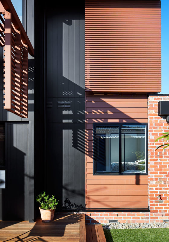 Layered materials, Brodecky House / Atlas Architects