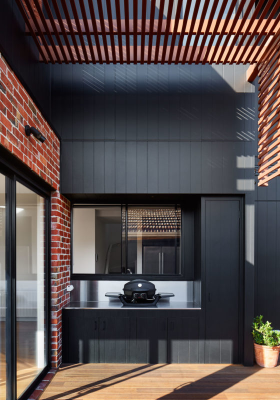 BBQ Area, Brodecky House / Atlas Architects