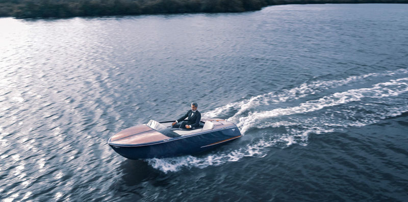 Beau Lake introduces the Tahoe '14 and Lugano '14 Electric Boats