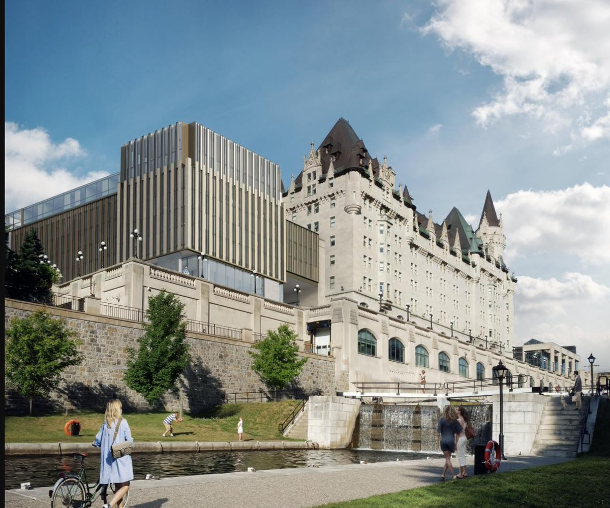 The Chateau Laurier