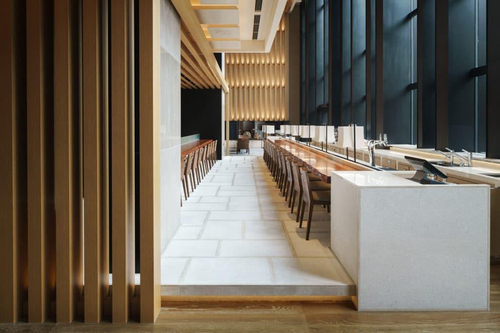 "Four Seasons Hotel Kyoto "" Brasserie "" / Kokaistudios"