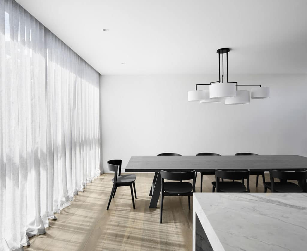 Dining Room, Verge House by Finnis Architects