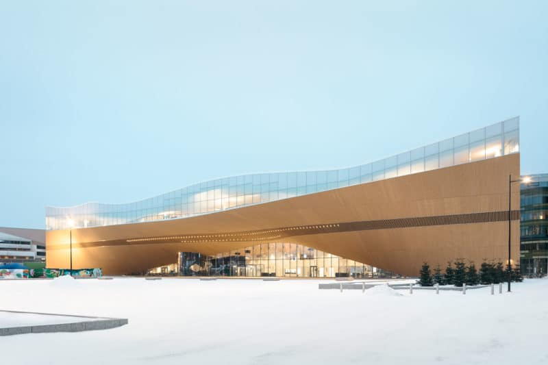 Helsinki Central Library Oodi / ALA Architects