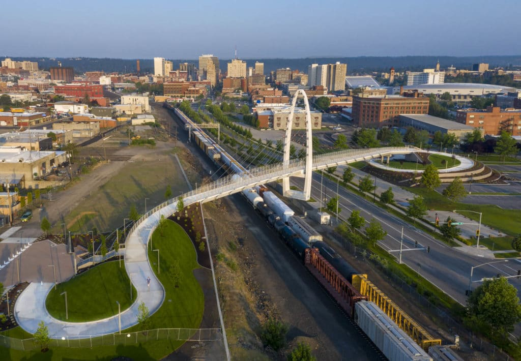 LMN Architects Completes Two New Bridges in Washington State