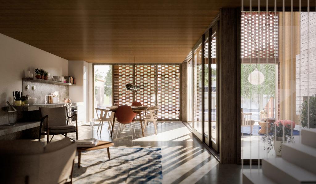 Triple Duplex by Batay-Csorba Architects