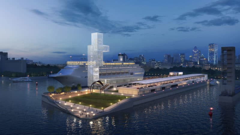 The Port of Montreal's Grand Quay in 2021