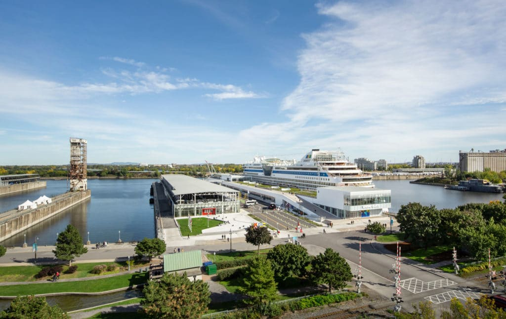 The Port of Montreal's Grand Quay