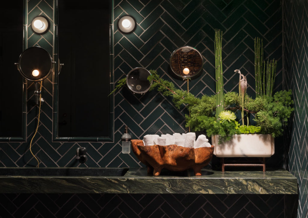 Deep Dive, a luxurious new bar in Seattle designed by Graham Baba Architects