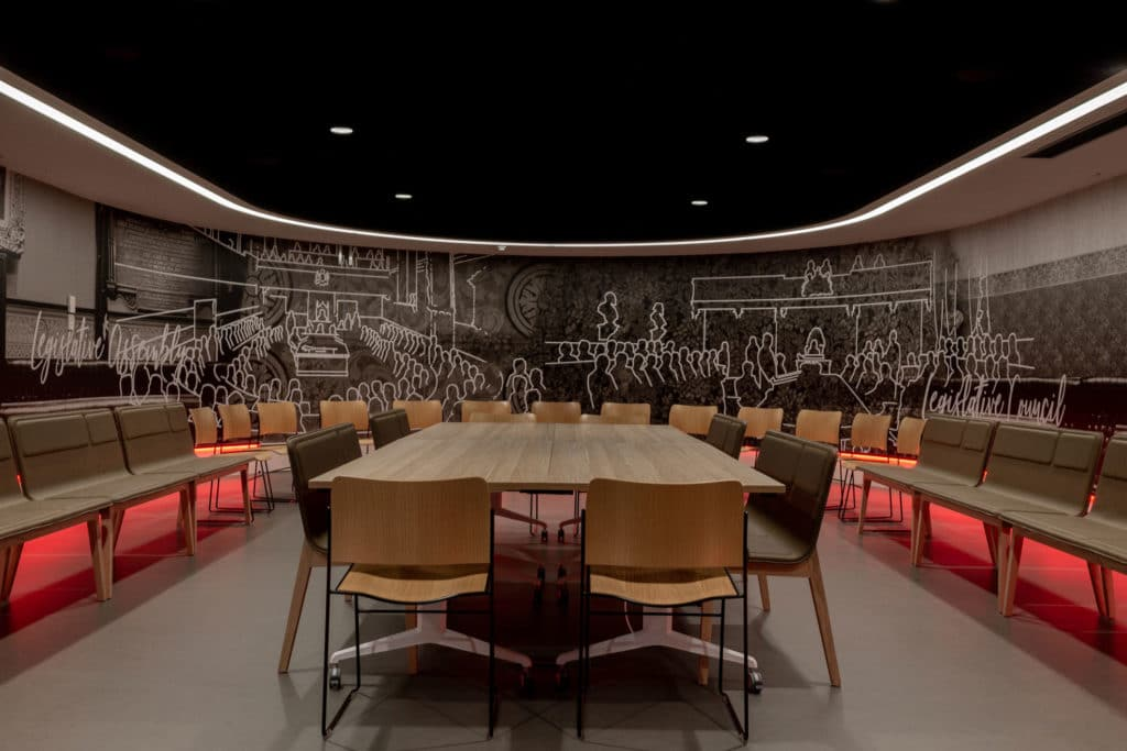 NSW Parliament House Education Centre by NBRS ARCHITECTURE