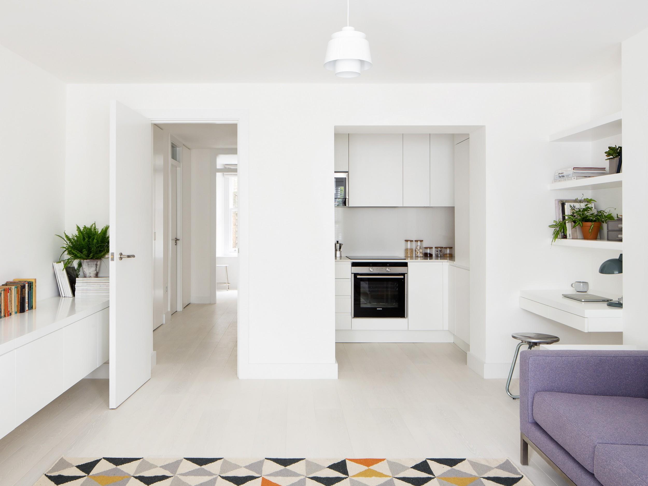 Primrose Hill apartment by Amos Goldreich Architecture