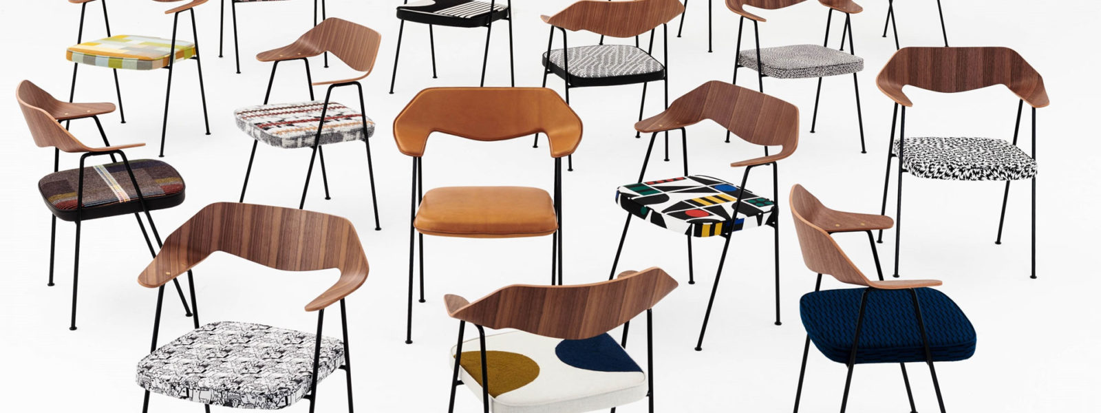 15 designers customise 675 Chair