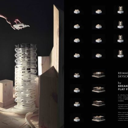 Mobius Tower - Landscape in the Air (Hong Kong)