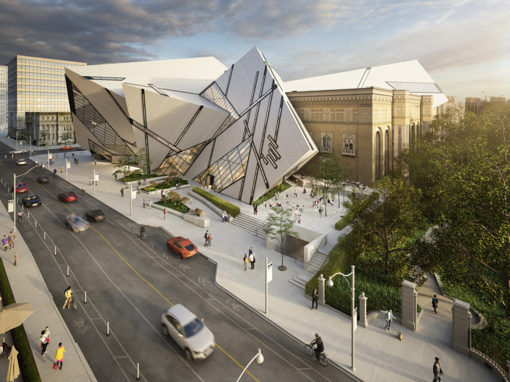 The ROM Welcome Project aerial render.