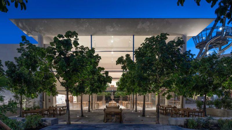 Apple Aventura by Foster + Partners