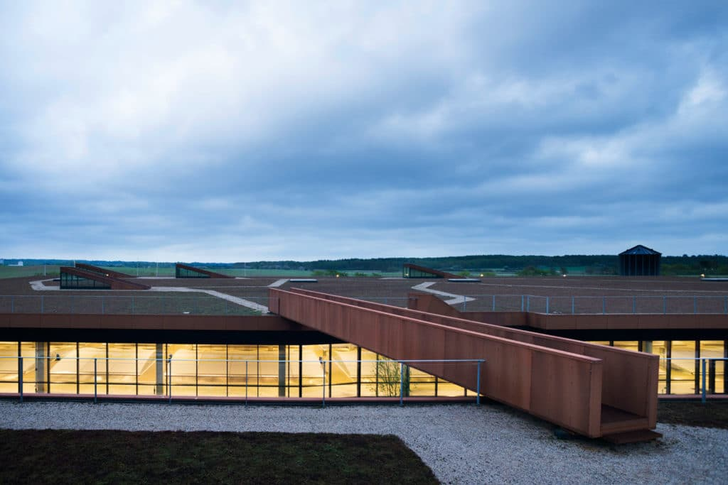 Solrødgård Water Treatment Plant by Henning Larsen Architects
