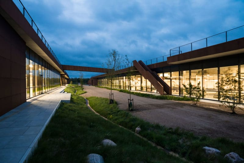 Solrødgård Water Treatment Plant by Henning Larsen Architects