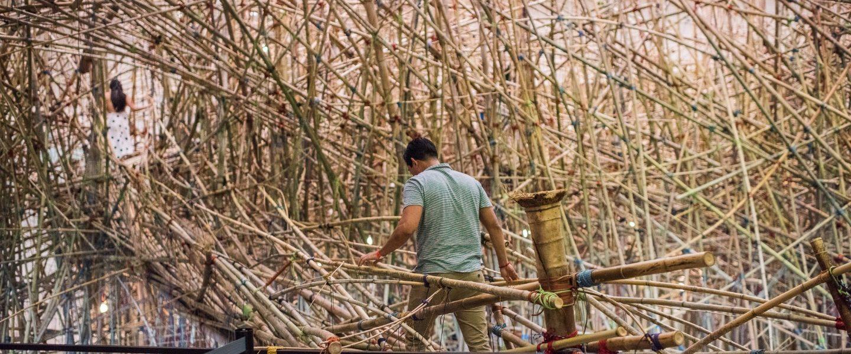 Mike + Doug Starn: Big Bambú