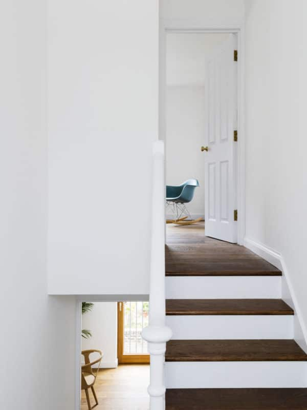 Stairs to Master Bedroom