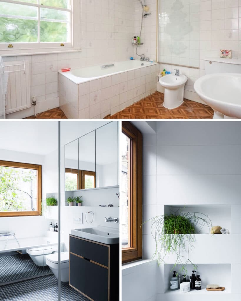 Bathroom: Before and After