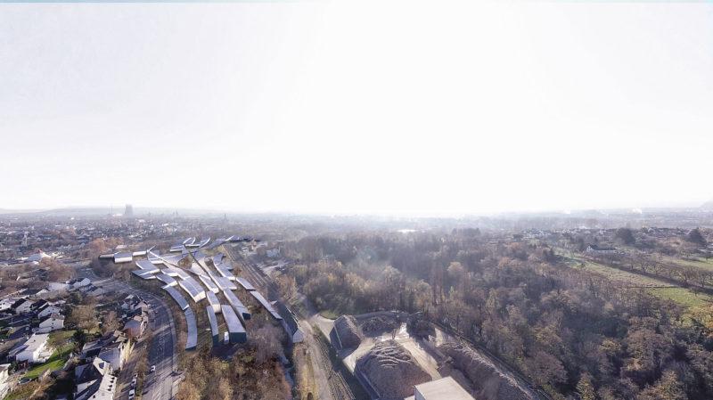 I4.0 Valley, a masterplan proposal by Salon Alper Derinbogaz