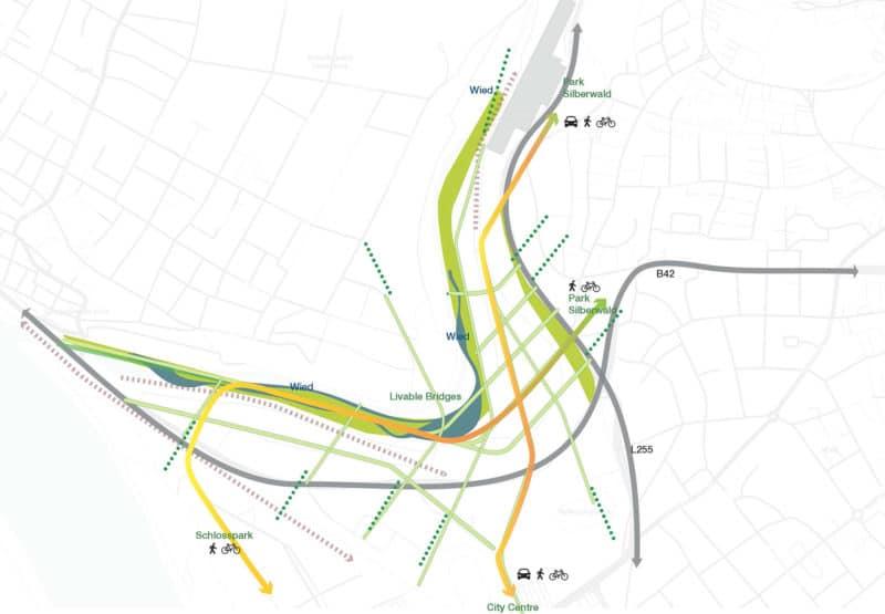 Masterplan is creating links between the surroundings