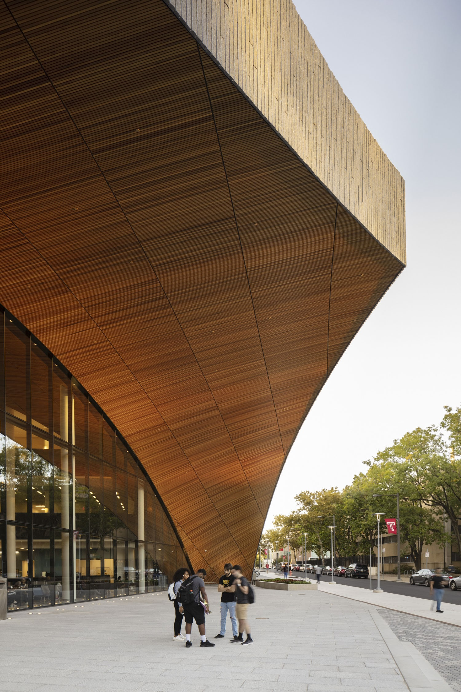The Charles Library at Temple University by Snohetta