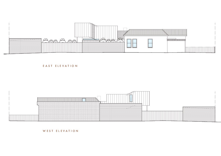 East - West Elevations