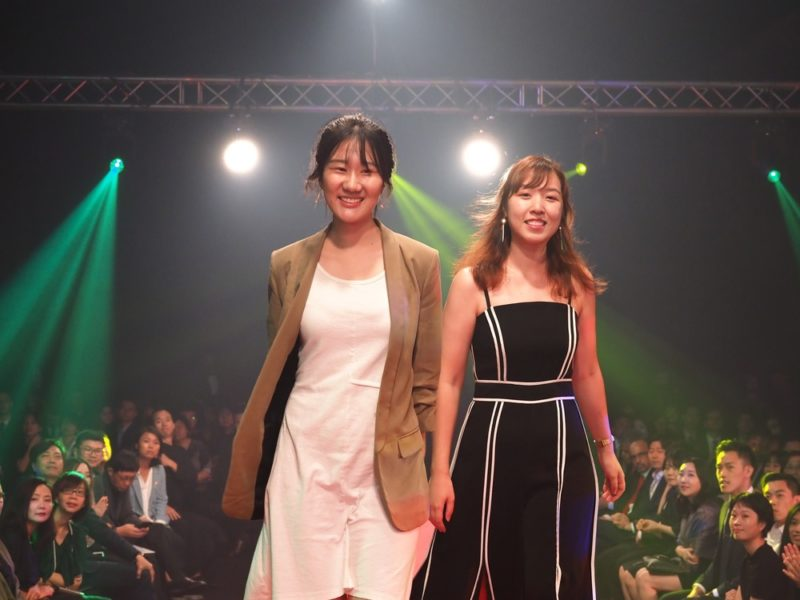 Designers representing National University of Singapore for the design concept Xian Cha