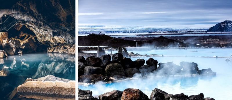 Nearby Grjotagja Hot Springs Cave and Myvatn Nature Bath;
