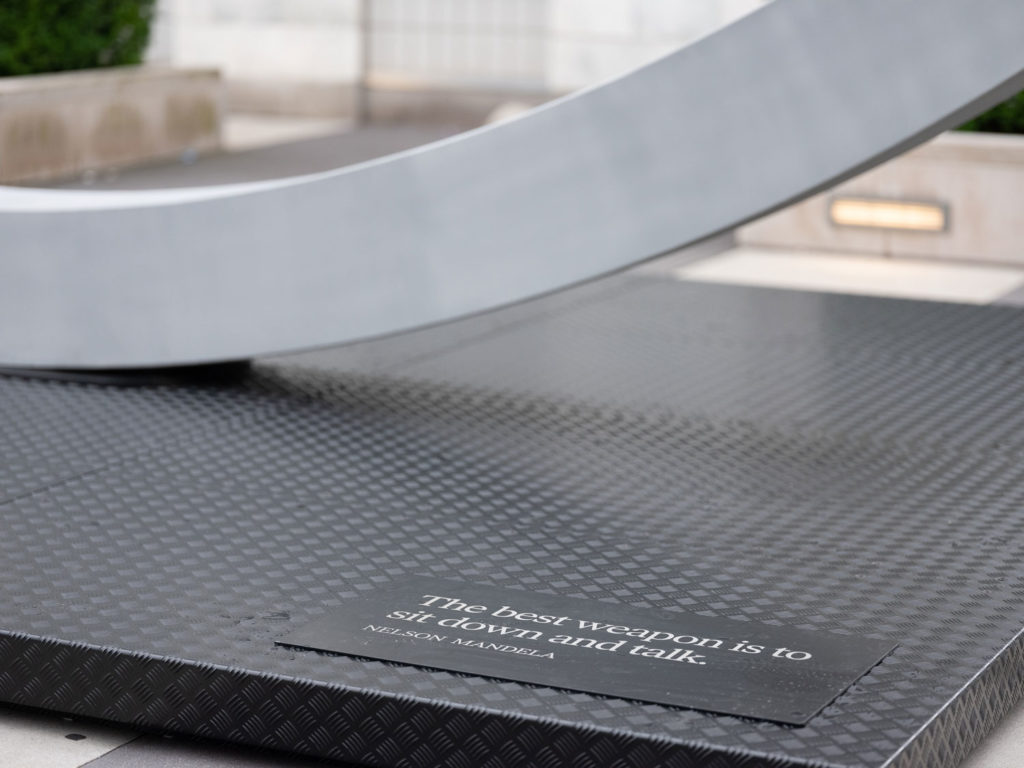 """The Best Weapon"" at the UN Headquarters: A Symbol of Diplomacy and Dialogue"
